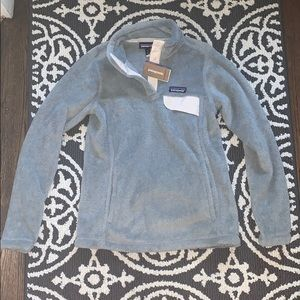 NWT Patagonia re-tool snap pullover